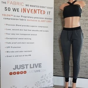 NWT Just Live Joggers